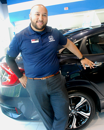 Carlos Gonzalez, one of the great people ready to help you ...